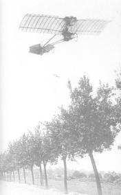 Voando no Demoiselle, na França