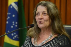 Marisa Fernandes, militante lésbica e feminista desde 1978.