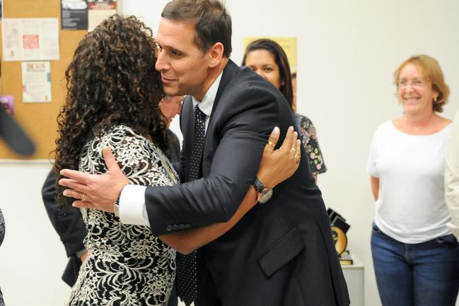 Fernando Capez e Eliane Dias