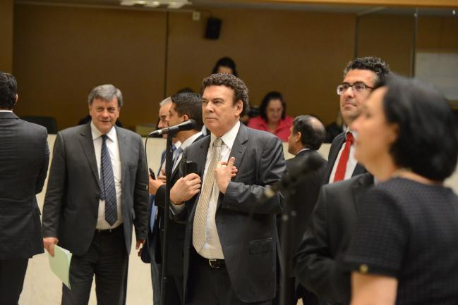 Roberto Massafera, Campos Machado e Alencar Santana