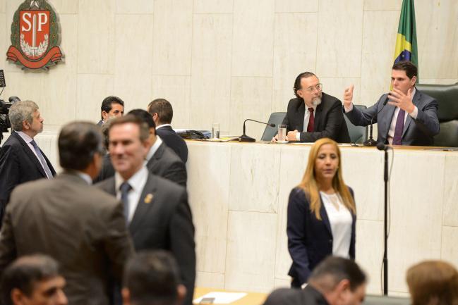 Carlos Bezerra Jr. e Cauê Macris