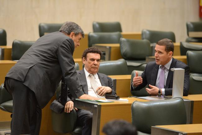 Roberto Massafera, Campos Machado e Fernando Capez