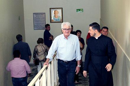 Visita a São Simão