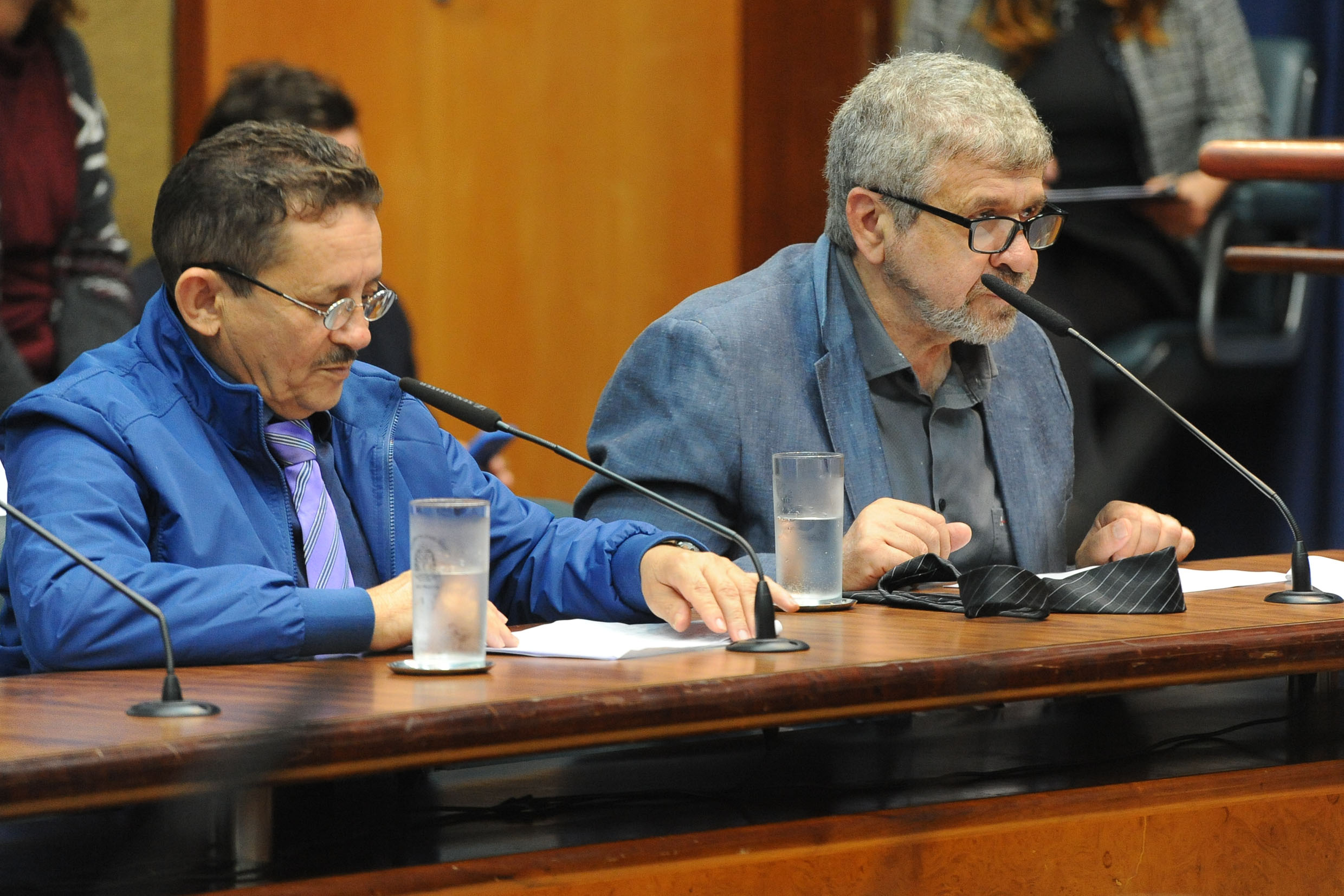 Parlamentares na comissão<a style='float:right' href='https://www3.al.sp.gov.br/repositorio/noticia/N-11-2018/fg227801.jpg' target=_blank><img src='/_img/material-file-download-white.png' width='14px' alt='Clique para baixar a imagem'></a>