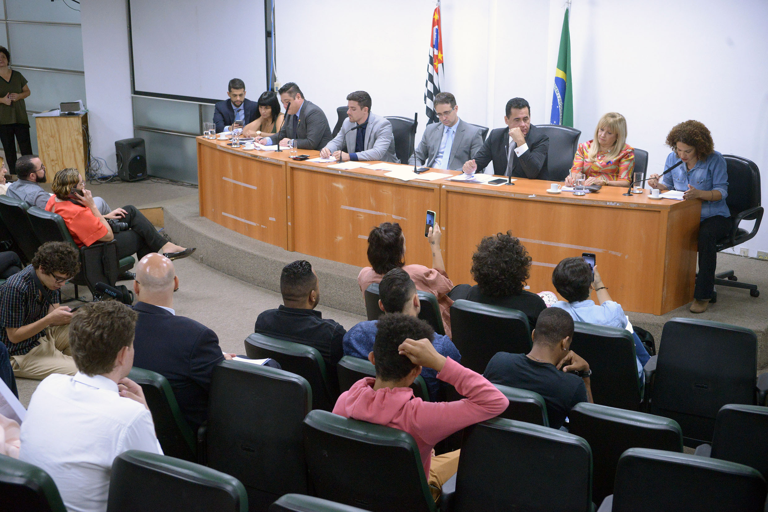 Parlamentares na CPI<a style='float:right' href='https://www3.al.sp.gov.br/repositorio/noticia/N-11-2019/fg243432.jpg' target=_blank><img src='/_img/material-file-download-white.png' width='14px' alt='Clique para baixar a imagem'></a>
