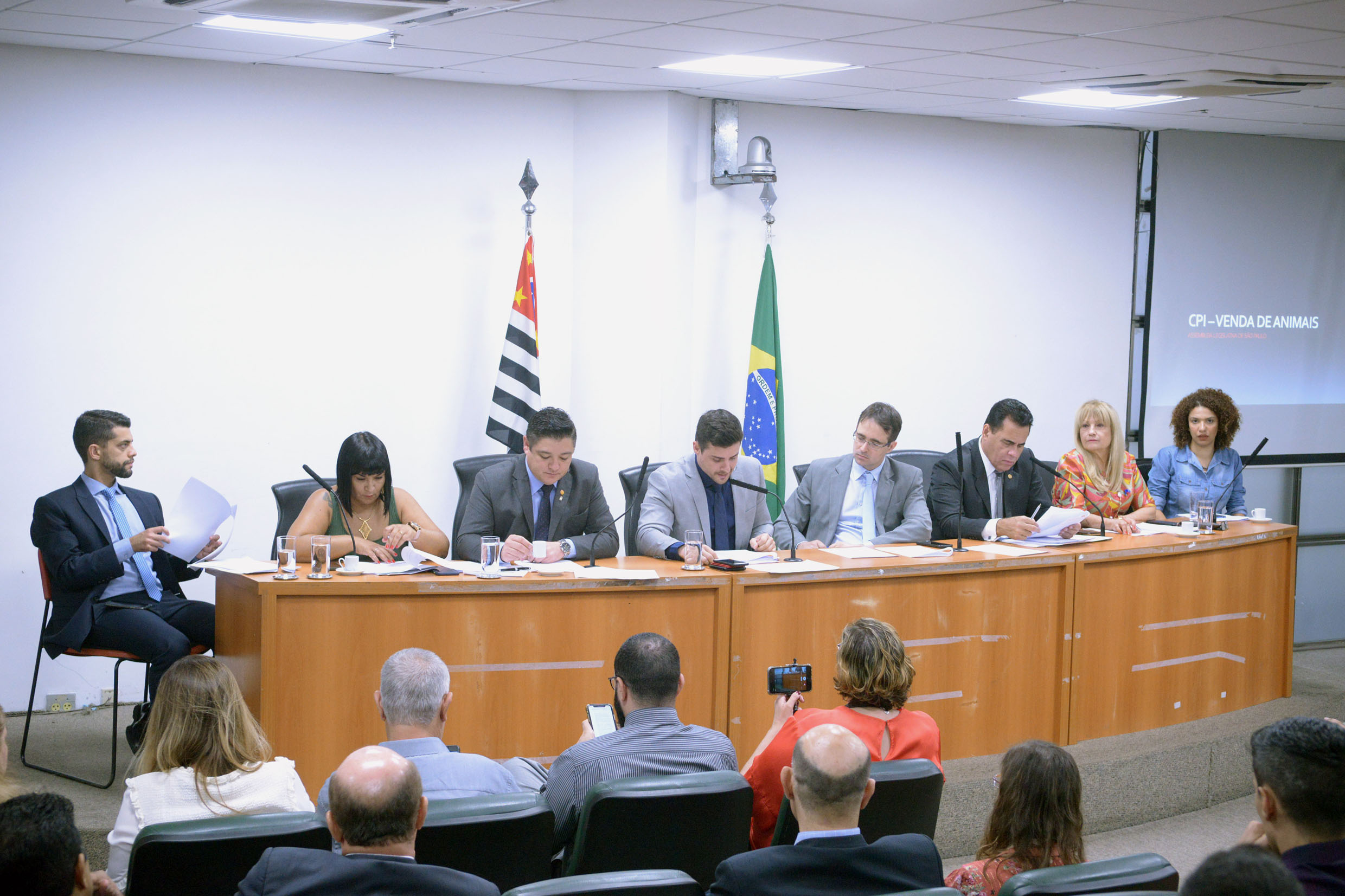 Parlamentares na CPI<a style='float:right' href='https://www3.al.sp.gov.br/repositorio/noticia/N-11-2019/fg243433.jpg' target=_blank><img src='/_img/material-file-download-white.png' width='14px' alt='Clique para baixar a imagem'></a>