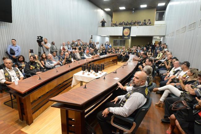Participantes da sessão solene