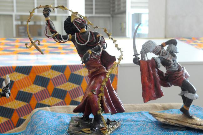 """Exposição """"O Pantheon dos Deuses Africanos"""""""