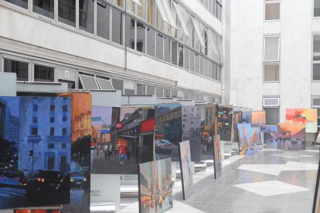 Exposição de Arte Urbanista