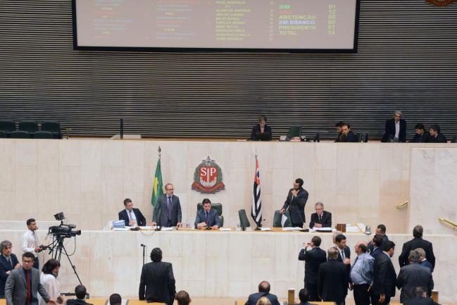 Sessão no Plenário JK