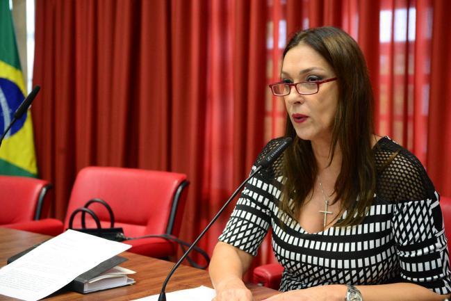 Rita Passos (PSD), na presidência da Comissão de Educação e Cultura