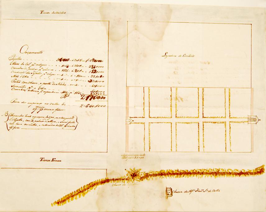 Planta de cemitério conservada no Acervo Histórico da Assembléia Legislativa <a style='float:right' href='https://www3.al.sp.gov.br/repositorio/noticia/hist/cemiterio2.jpg' target=_blank><img src='/_img/material-file-download-white.png' width='14px' alt='Clique para baixar a imagem'></a>